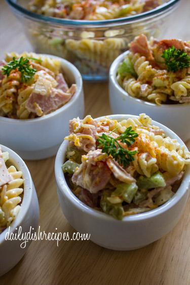 Classic Ham and Pasta Salad