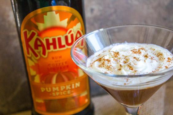 Kahlúa Pumpkin Spice Latte Cocktail