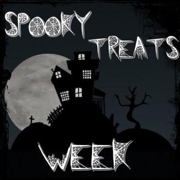 Spooky Treats Week Logo Pumpkin Kiss Cookies {Spooky Treats Week – Treat #2}