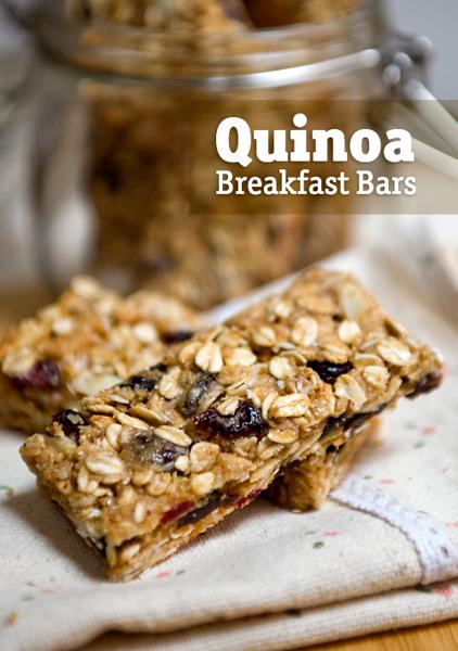 QuinoaBreakfastBars