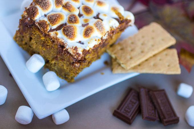 Pumpkin-S'mores-Cake-4