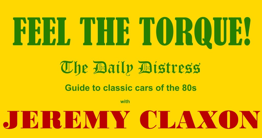 5 classic cars of the 80s by Jeremy Claxon in The Daily Distress