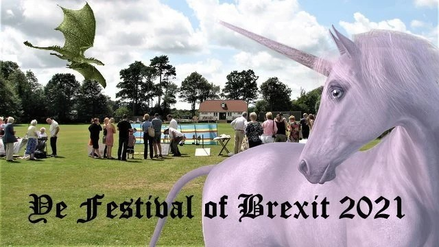festival of brexit promo poster daily distress satire