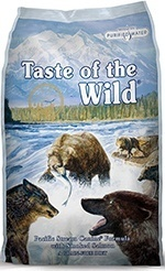 Taste of the Wild Grain Free High Protein Natural Dry Dog Food salmon