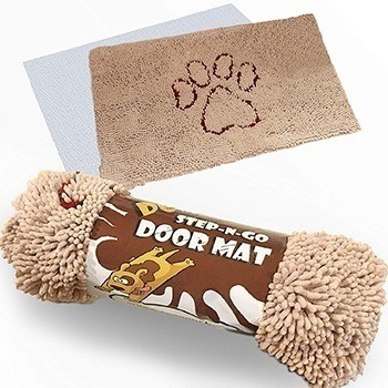"XL ""Extra Thick"" Micro Fiber Pet and Dog Door Mat - Super Absorbent."