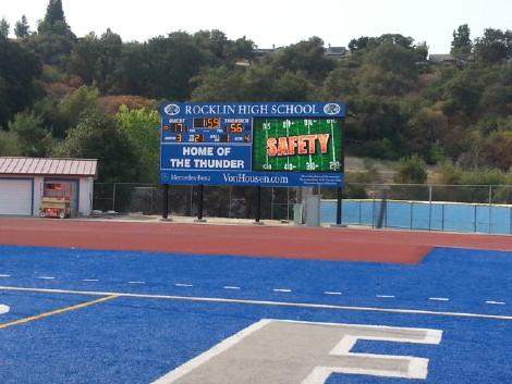 Rocklin High School in Rocklin, California