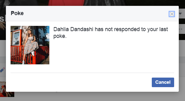 what does poke mean on facebook