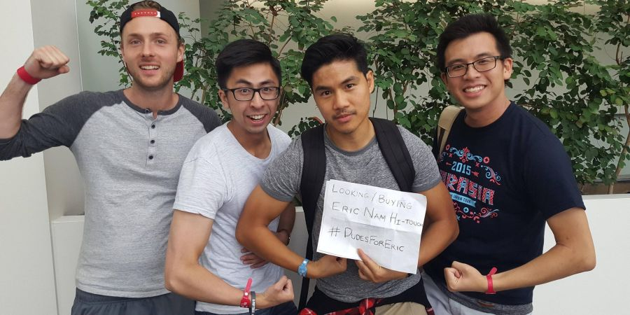 These dudes formed a fan group for K-pop idol Eric Nam\u2014and it\u0027s great