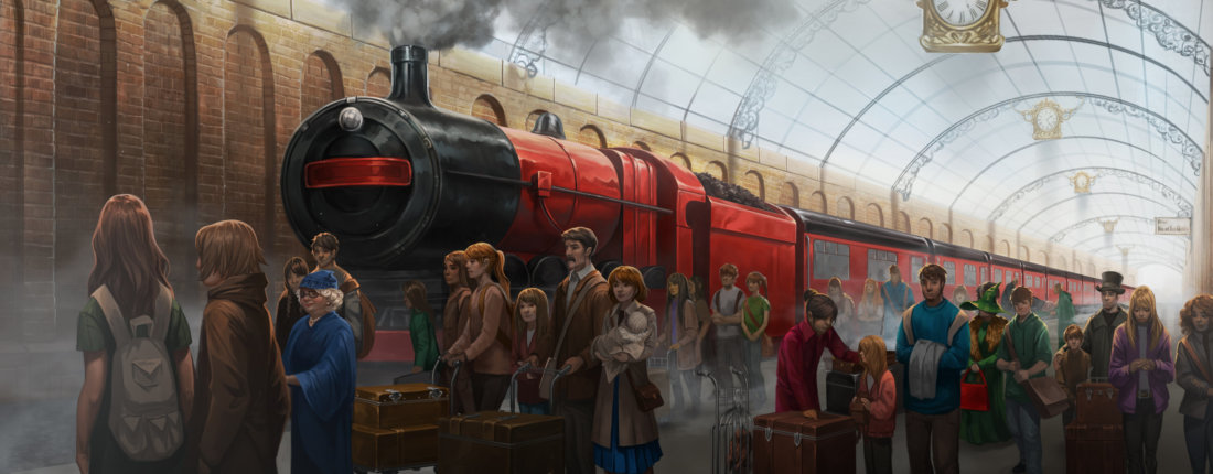 Illustrated Car Wallpaper Stunning New Illustrations Of The Harry Potter Universe