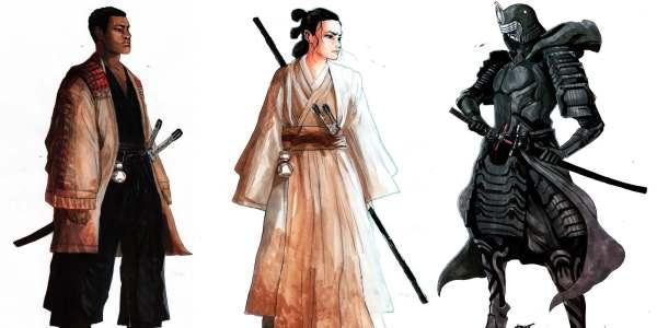 'star Wars' Fan' Amazing Art Turns ' Force Awakens
