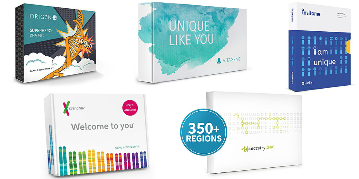 Almost every at-home DNA test kit is on sale through ...