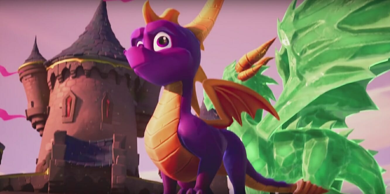 Remastered Spyro The Dragon Game Trailer Leaks Online