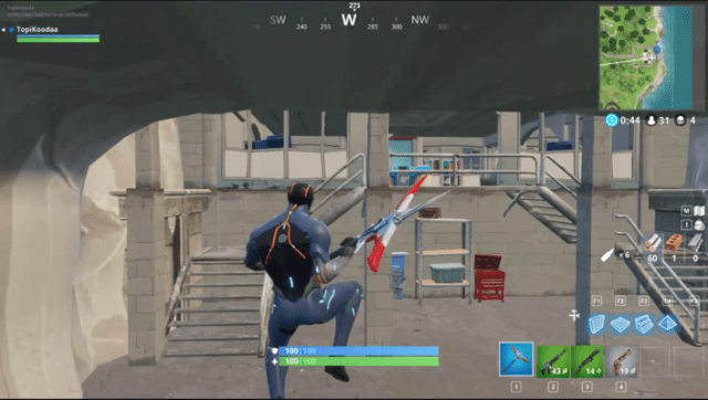 fortnite hidden place