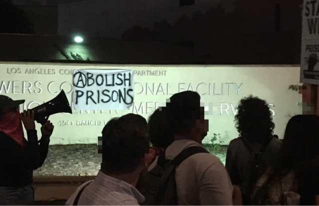 Abolish prisons protest