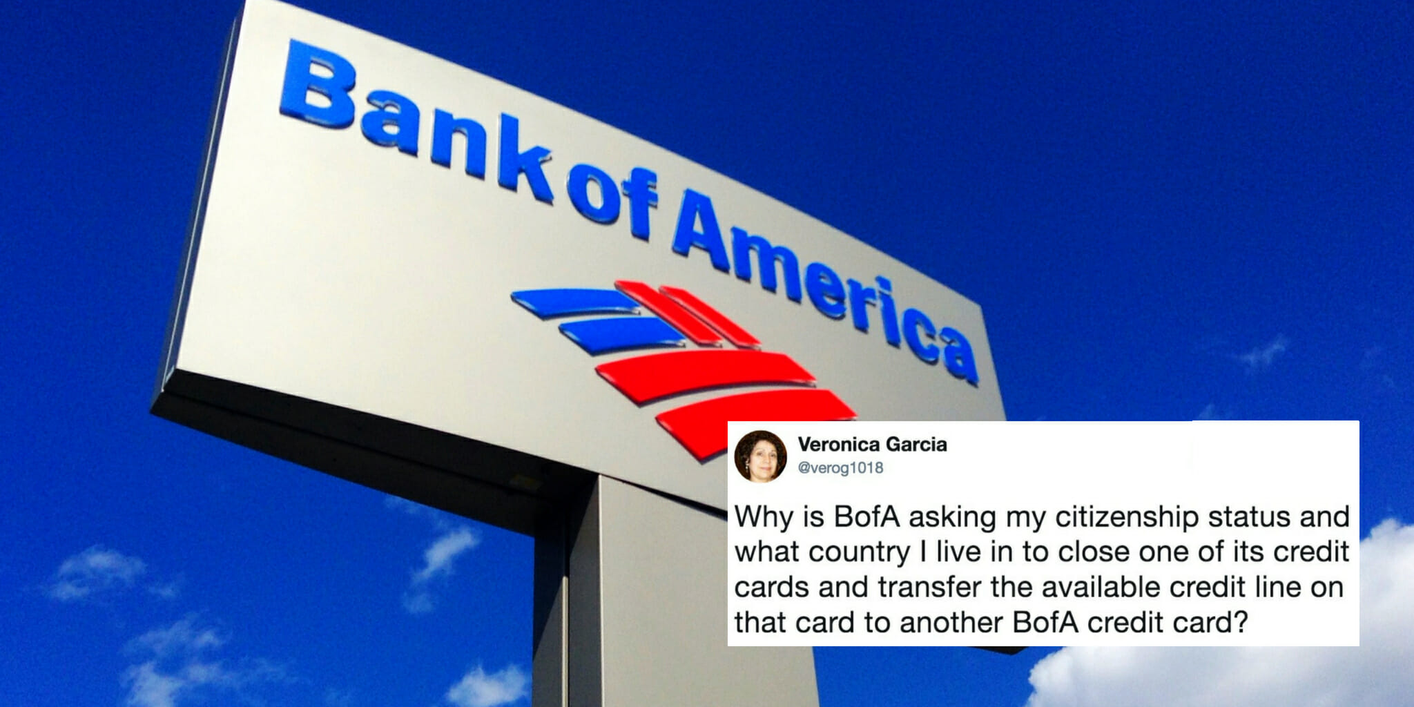 Bank Of America Questions Customers Citizenship Statuses
