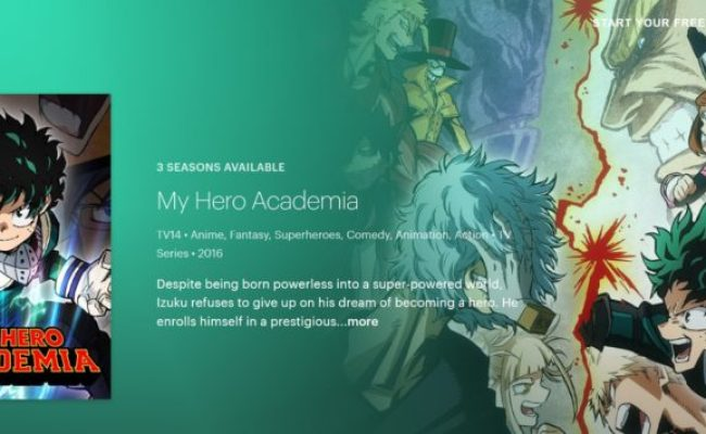 How To Watch My Hero Academia Online 5 Easy Options
