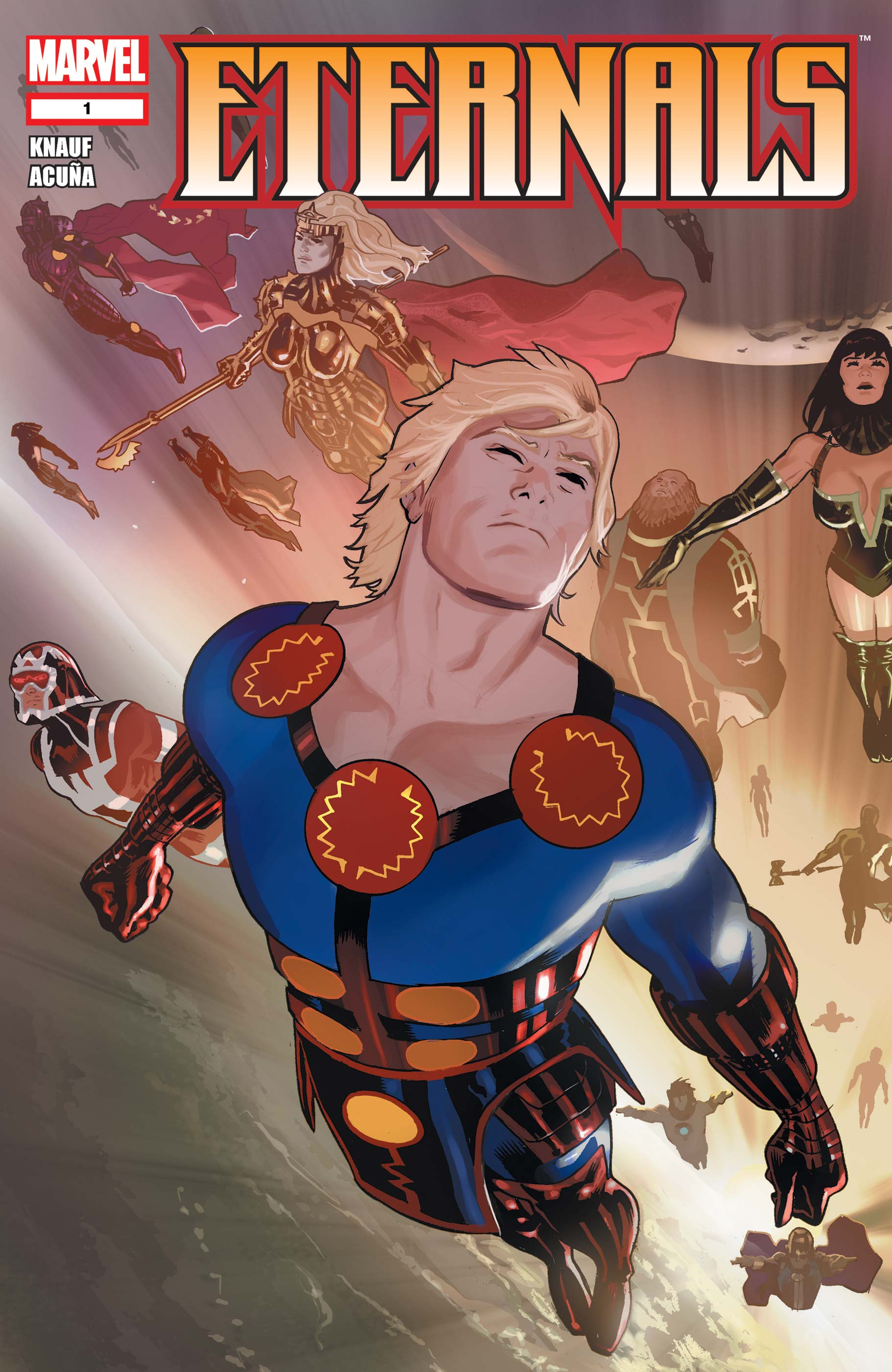 Marvels The Eternals Could Be the Weirdest Movie in the MCU