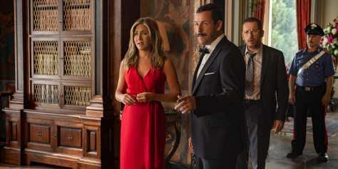 Jennifer Aniston, Adam Sandler & Dany Boon in Murder Mystery recensie op Netflix België
