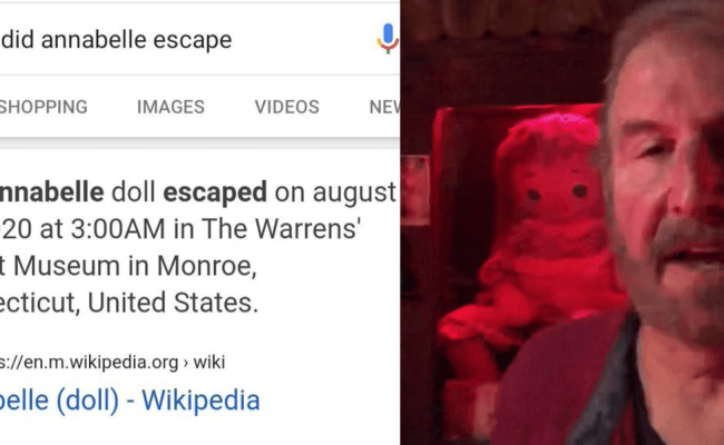 How A Wikipedia Page Fueled Viral Rumor That Annabelle
