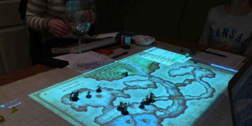d d graph paper map