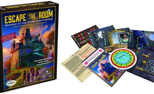 Escape The Room In Your Home With The Official Board Game