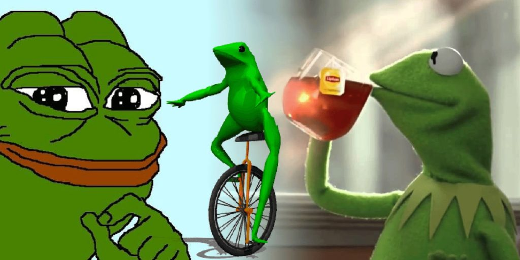 Face Meme Kermit Frog