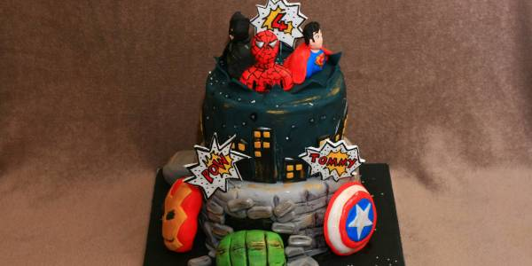 Kroger Bakery Birthday Cakes Batman V Superman Cake