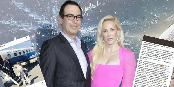 19e20a0a6e554195 - Millionaire wife of U.S. treasury secretary mocks mother of 3 for not being rich