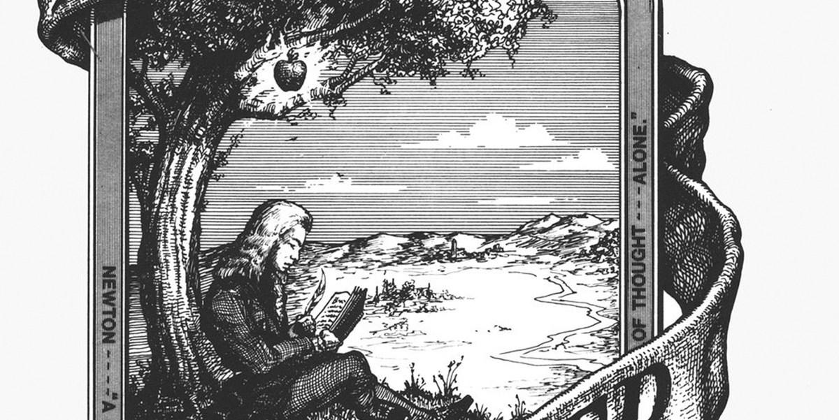 Logo Apple Diambil Dari Isaac Newton - 3 Mitos Tentang Makna Logo Apple Dan Makna Sesungguhnya