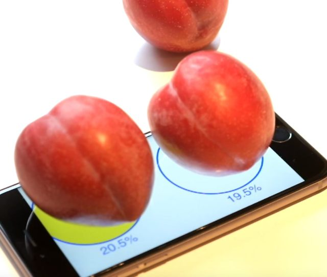 Apples Iphone S Can Weigh Plums In Case You Ever Need It To