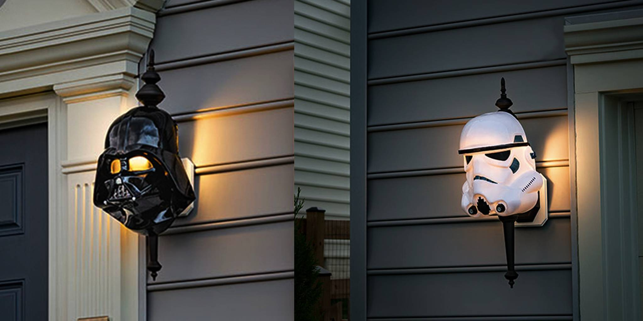 These 'Star Wars' porch light covers brighten your home