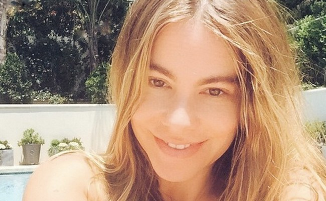 Sofia Vergara Took A No Makeup Selfie And Everyone Is