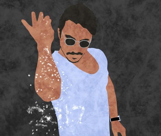 Salt Bae Illustration