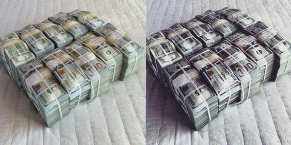 Instagram Money Stacks Cash