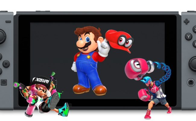 Here Are All The Nintendo Switch Games You Can Pre Order Now