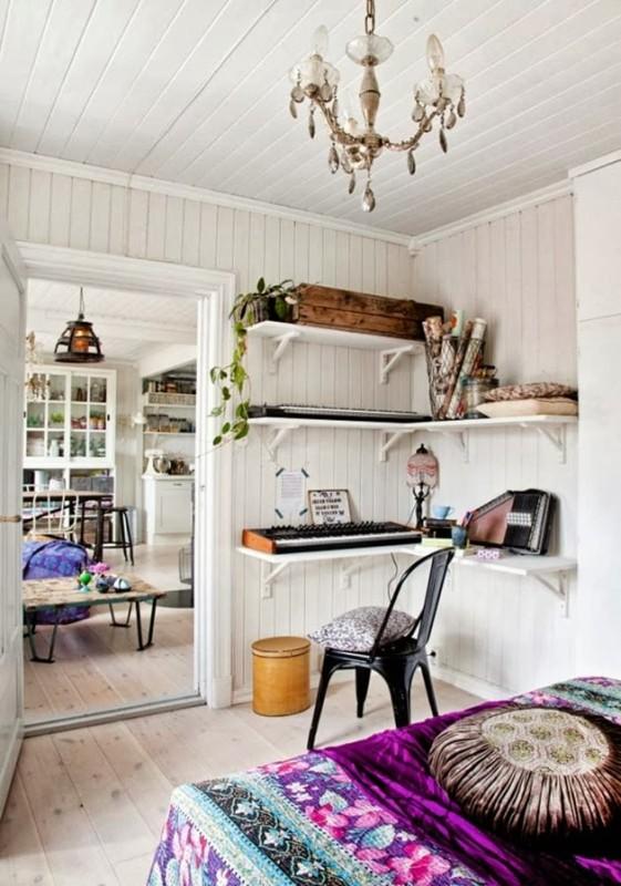 Modern hippie interior - Daily Dream Decor