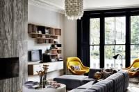 Industrial glamorous living room - Daily Dream Decor