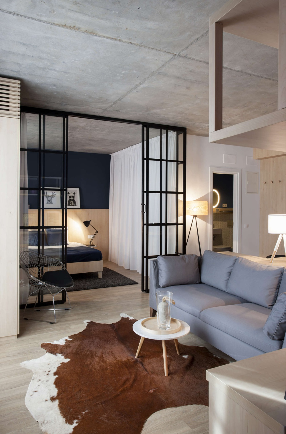 Cozy industrial apartment in Bucharest  Daily Dream Decor