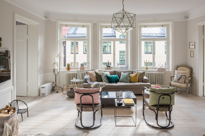 Be charmed by this eclectic Swedish apartment & Modern eclectic apartment in Sweden - Daily Dream Decor