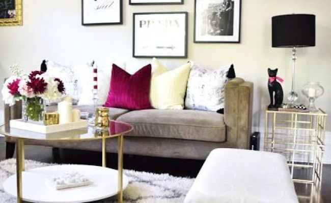 Glam Apartment Decor Home Decorating Ideas