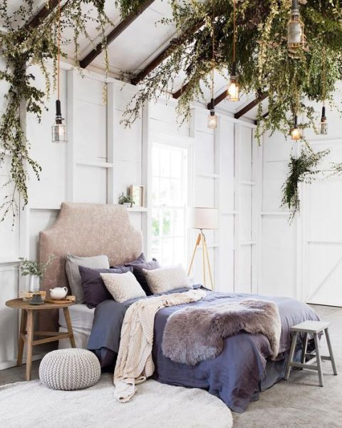 natural bedroom decorating ideas A gorgeous natural bedroom style - Daily Dream Decor