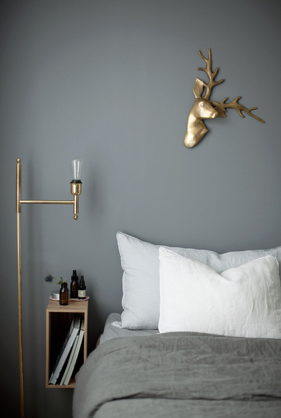 Warm shades of gray in a dreamy apartment  Daily Dream