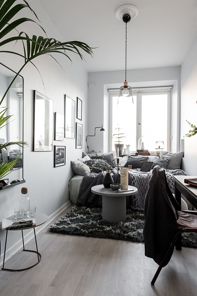 A teeny tiny dreamy studio apartment  Daily Dream Decor