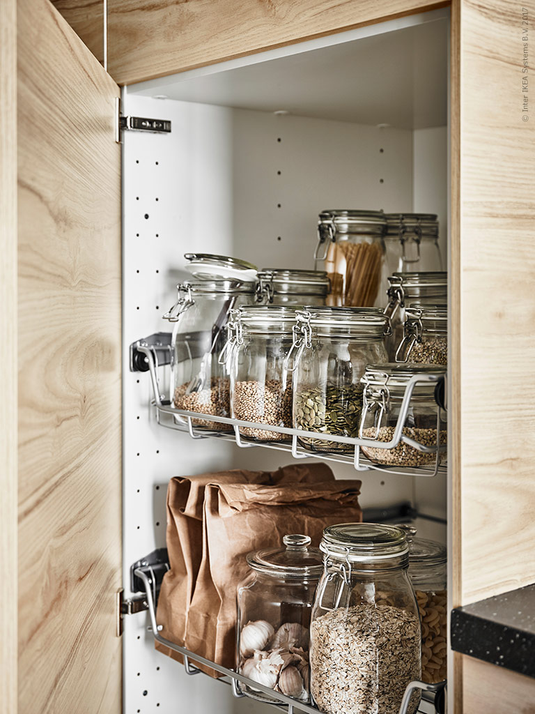A cool scandi Ikea kitchen  Daily Dream Decor