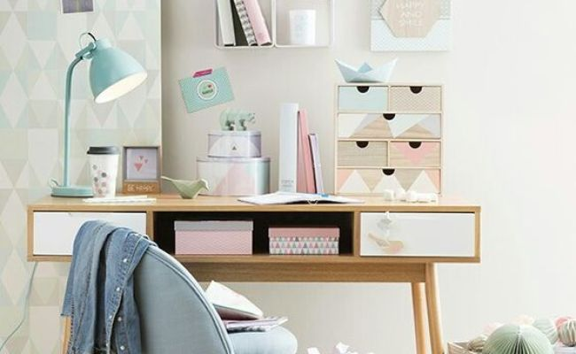 A Pastel Home Office Daily Dream Decor