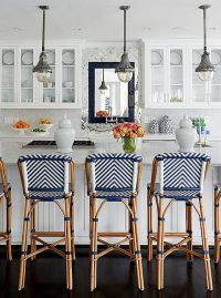 French bistro style - a popular kitchen trend right now ...