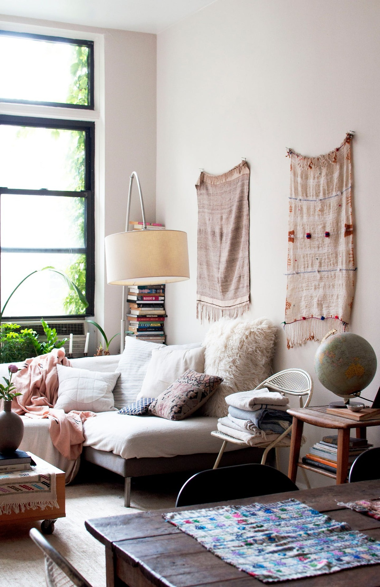 A dreamy bohemian Brooklyn studio apartment  Daily Dream Decor