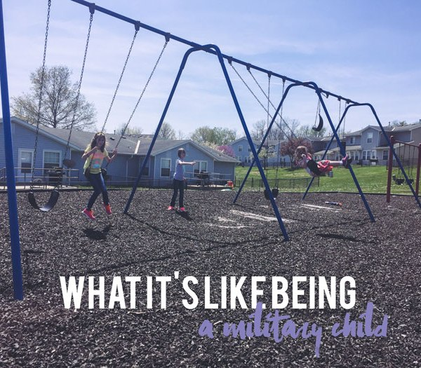 What It's Like Being a Military Child