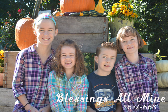 Blessings All Mine #627-668