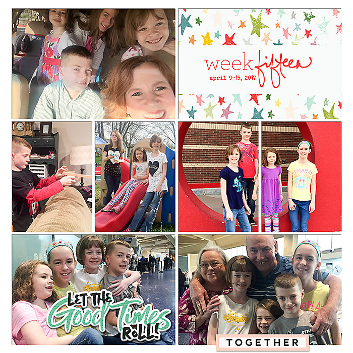 Digital Project Life 2017 {Weeks 14 and 15}